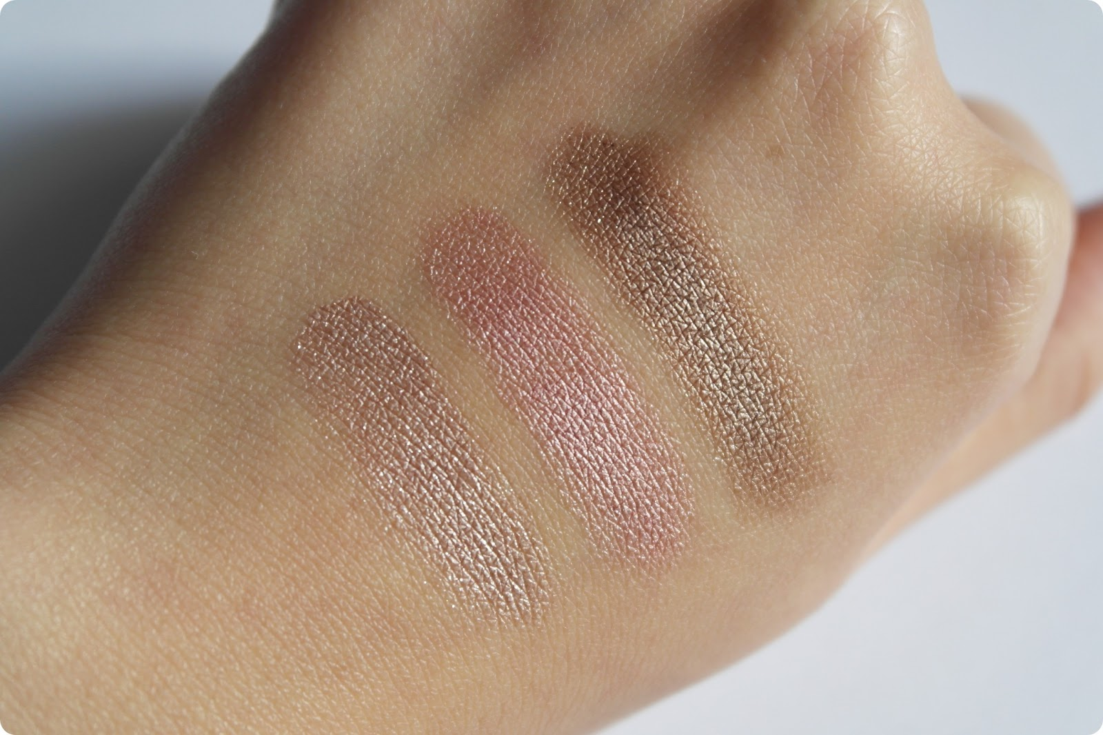 MAC Pro LongWear Paint Pot in Vintage Selection swatch and comparison