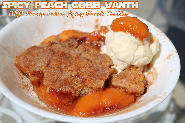 Star Wars Spiced Peach Cobbler Recipe