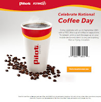 pilot coffee coupon