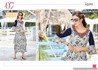 Lavina Isha vol 4 Party wear kurtis