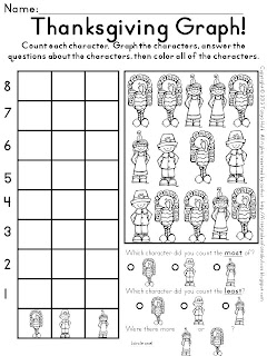 First Grade is Fantabulous!: November Busy Work Pack for