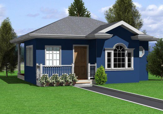 30 Minimalist Beautiful Small House Design For 2016 - Bahay Ofw