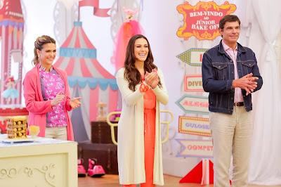 Beca, Nadja e Olivier (Crédito: Gabriel Cardoso/SBT)