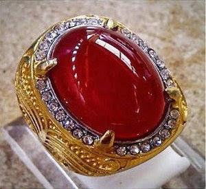 Batu akik Red Rafflesia