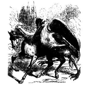 Goetia - Shax (Illustration)