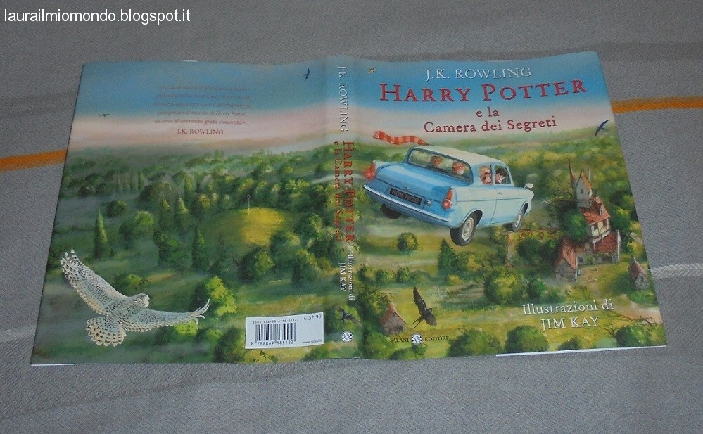 Harry Potter Camera Segreti Illustrato : Harry potter e la camera dei segreti illustrato news harry potter
