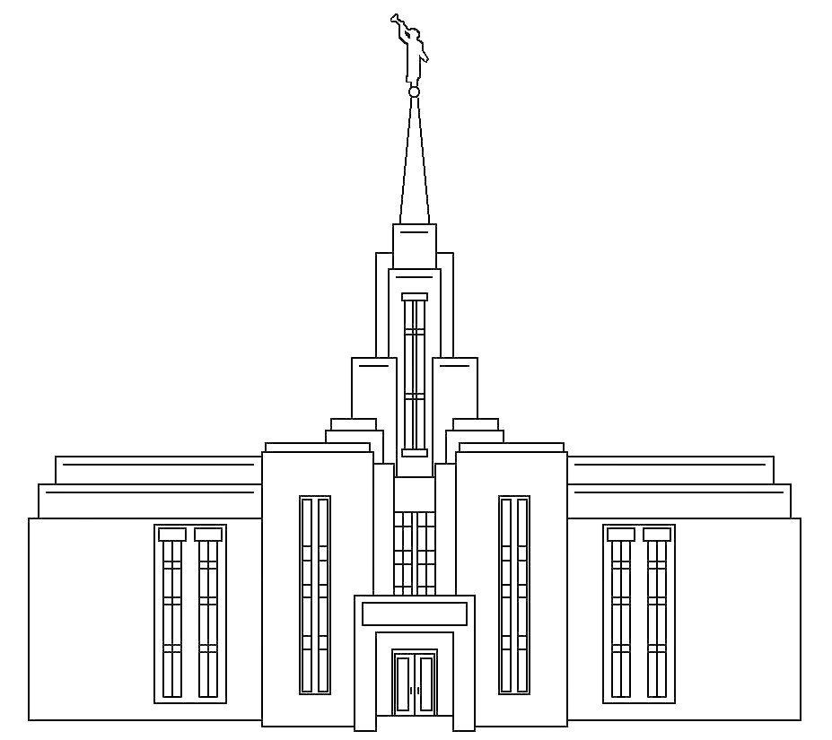 columbia river temple outline » Full HD Pictures [4K Ultra] | Full ...