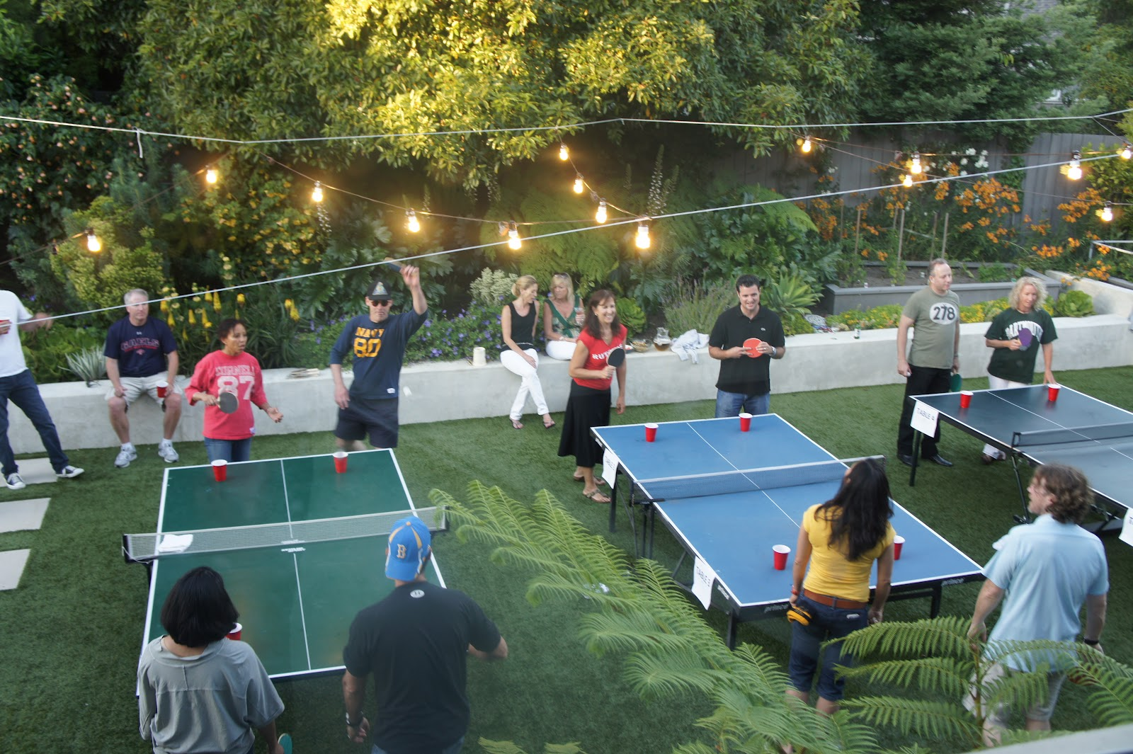 about last weekend: Beer Pong Party!