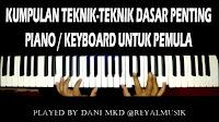 Belajar Piano Untuk Pemula, Cara Mudah Bermain Piano Keyboard