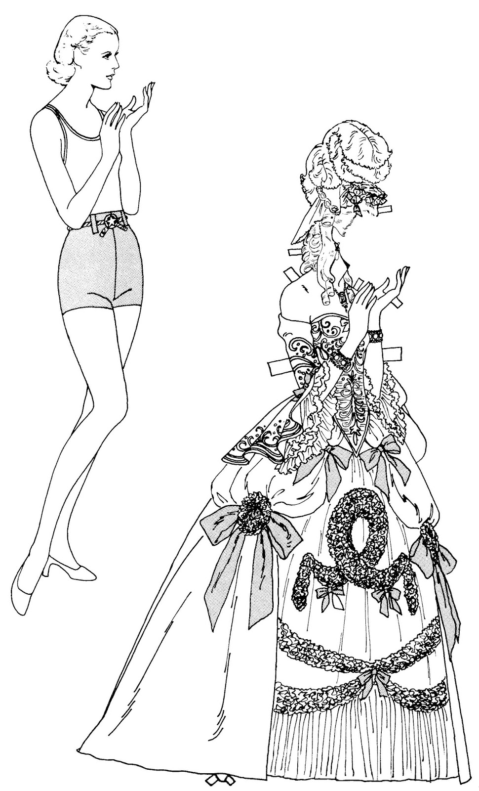 Mostly Paper Dolls Too!: ANITA LOUISE by Tom Tierney