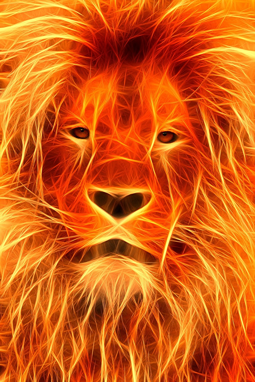 Star Steeds and Other Dreams: THE FIRE LION