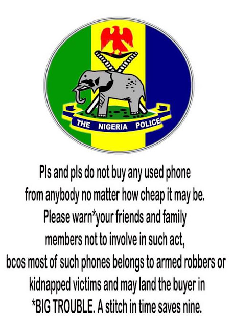 Anambra Police warns against buying of used phones; says most belong to armed robbers and kidnapped victims