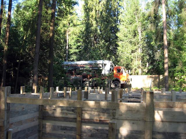 строительство дома бетономешалка