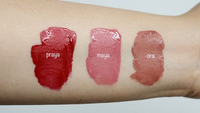 swatches arra beauty