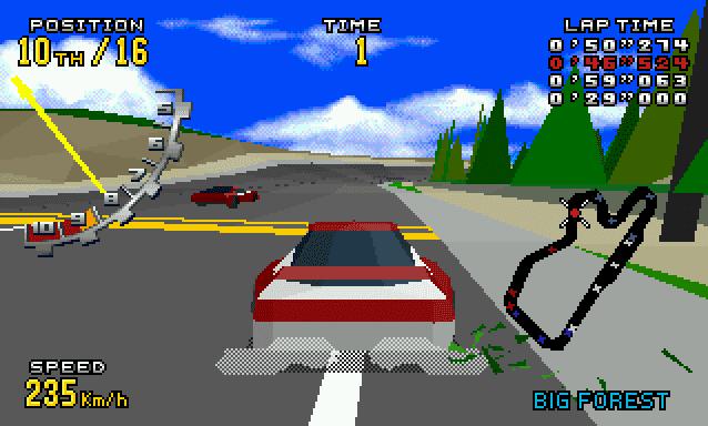 Super Adventures in Gaming: Virtua Racing Deluxe (32X)