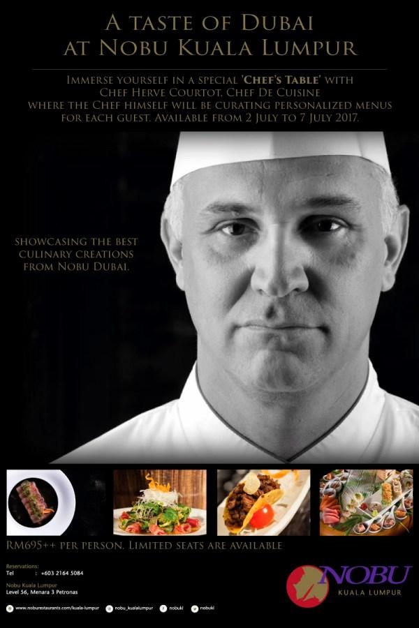 Cuisine Hervé | Chasing Food Dreams Taste Of Dubai With Chef Herve Courtot Nobu