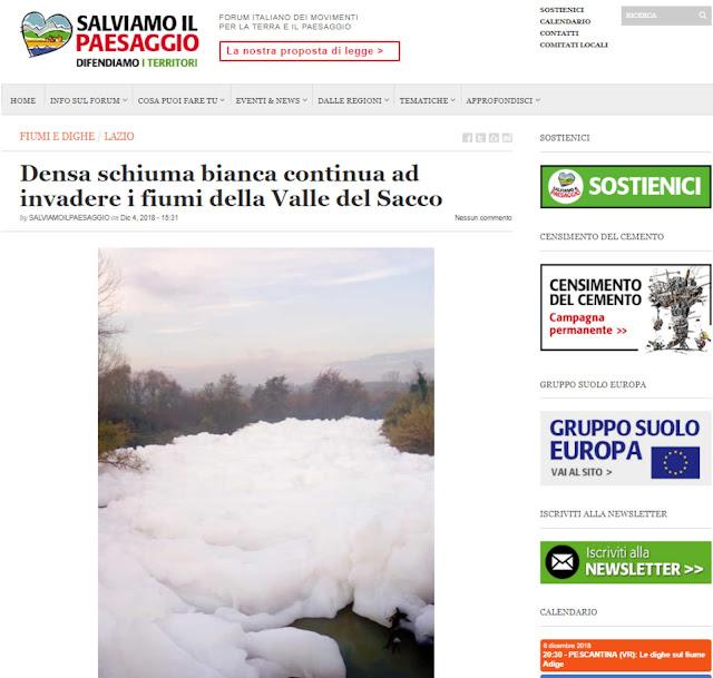 http://www.salviamoilpaesaggio.it/blog/2018/12/densa-schiuma-bianca-continua-ad-invadere-i-fiumi-della-valle-del-sacco/?fbclid=IwAR08K962-7kK65xYOPW0BkcwcdbKZcFxZ8qrUsOoQIZB77dQVGcYNoDUo_0