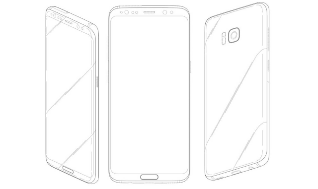 An Old Samsung Galaxy S8 Patent Leaked Online Shows the ...