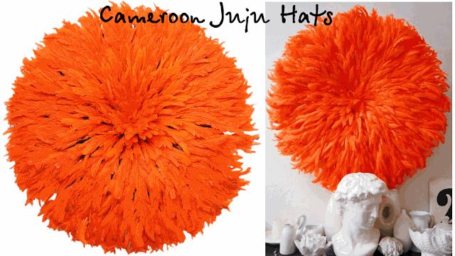 Камерунские juju hats