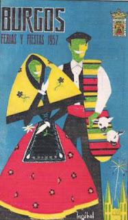 Fiestas de Burgos de 1957