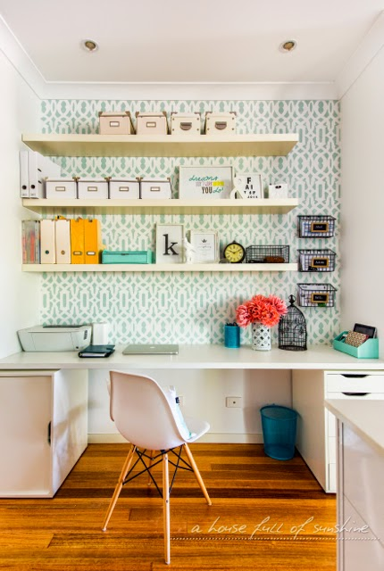my favorite space: a functional & beautiful home office nooka