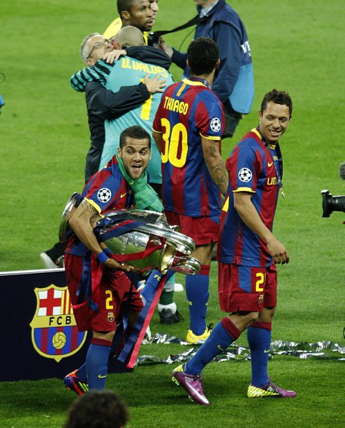 Liverpool V Barcelona Live Matchday Blog: COOL IMAGES: Barcelona FC Beats Manchester United In