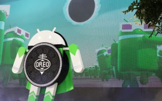 Android distribution chart for April shows close to 5% share for Oreo