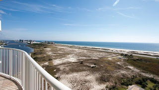 Caribe Resort Condo For Sale, Orange Beach Alabama Real Estate Balcony View Unit DPH11