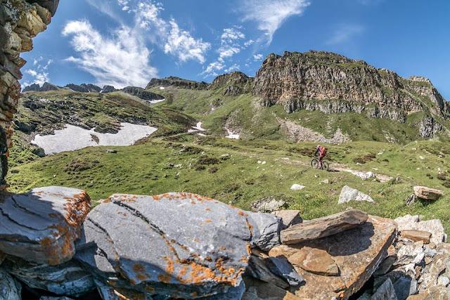 Südtirol Flatschsptize Brenner Mountainbike Tour, MTB
