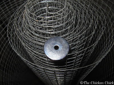 "HARDWARE CLOTH: 1/4"" or 1/2"" welded wire mesh fencing used in chicken coops and runs to protect against predators."