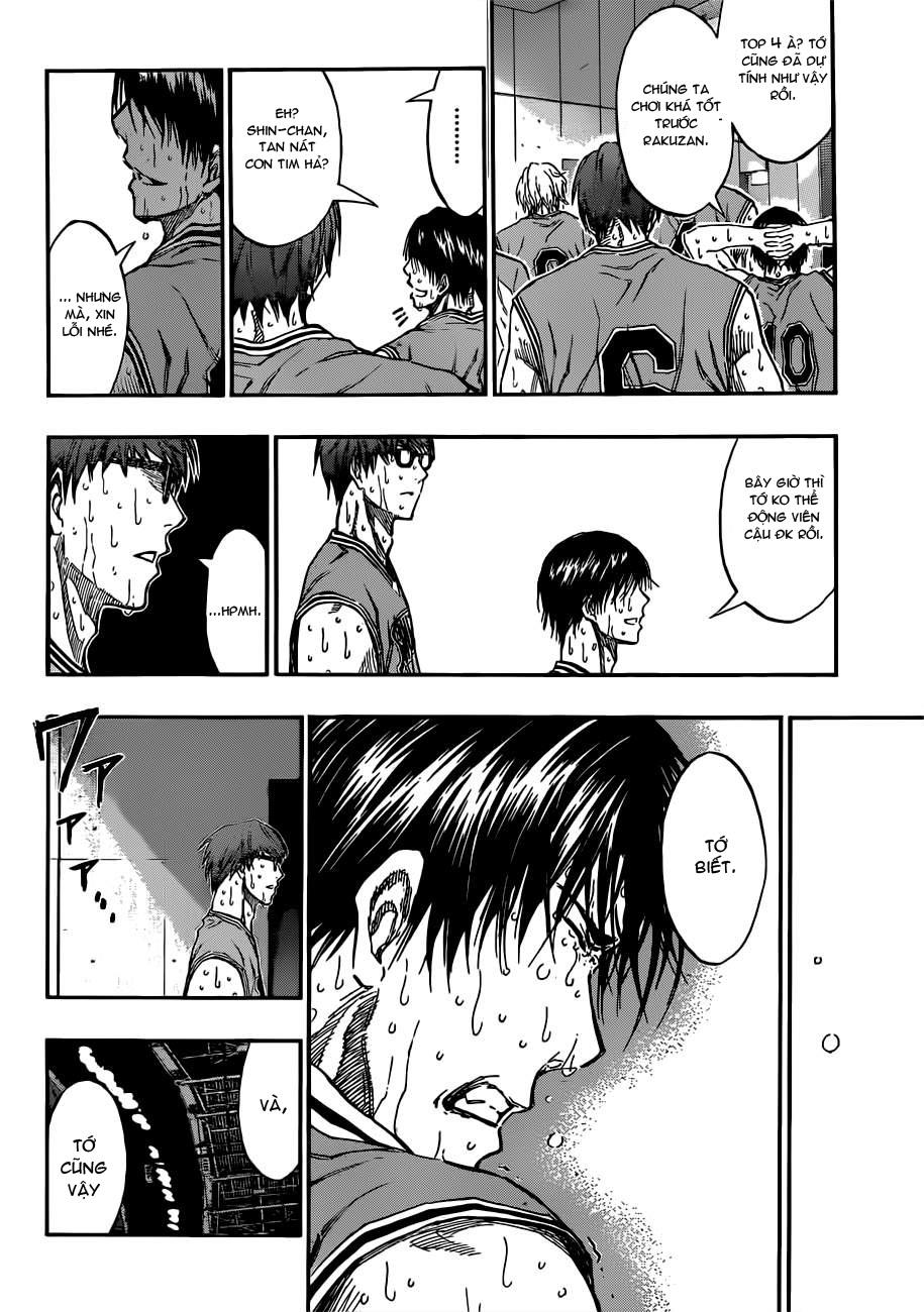 Kuroko No Basket chap 183 trang 8