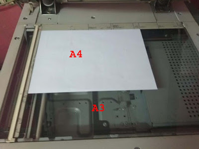 menggunakan mesin fotocopy