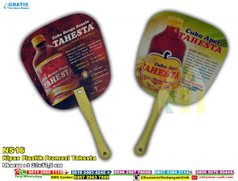 Kipas Plastik Promosi Tahesta