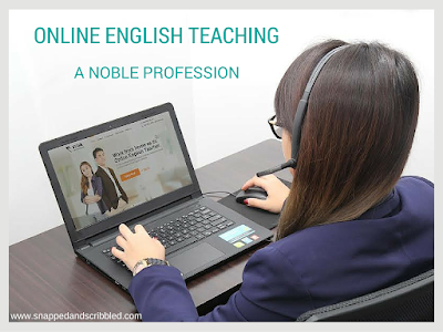 Online English Teaching: A Noble Profession