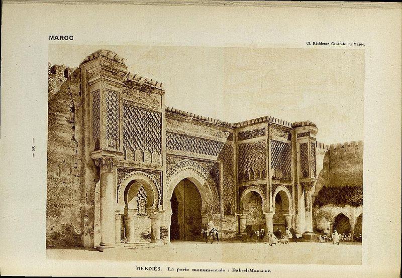 Al simsimah lahcen daa f les inscriptions de bab mansur for Porte traduction