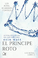 El príncipe roto (The Royals 2) Erin Watt