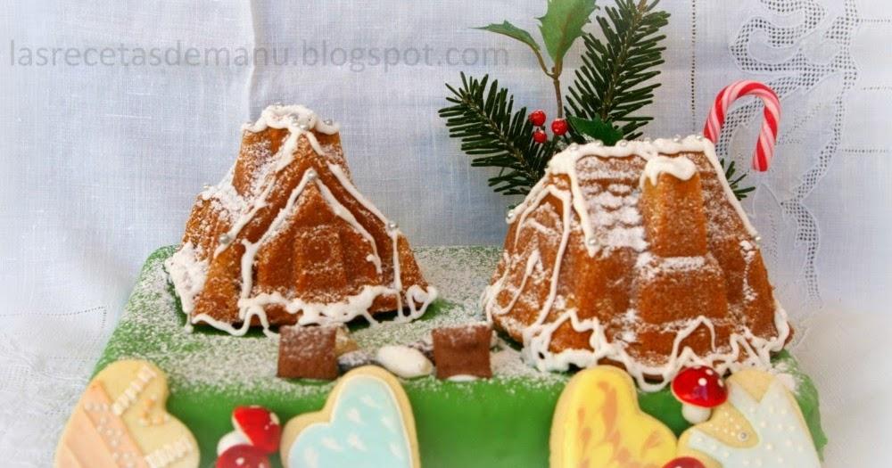 Las recetas de manu pastel casitas de jengibre para - Casitas de navidad ...