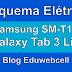 Esquema Elétrico Samsung Galaxy Tab 3 Lite SM-T111 - Manual de Serviço