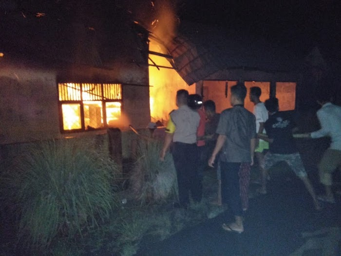 SDN 1 Kota Batu Kecamatan Kotaagung Pusat Di Lalap Api