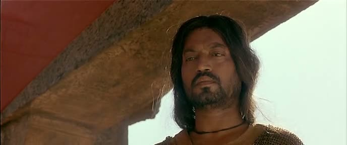 Screen Shot Of Hindi Movie The Warrior 2001 300MB Short Size Download And Watch Online Free at worldfree4u.com