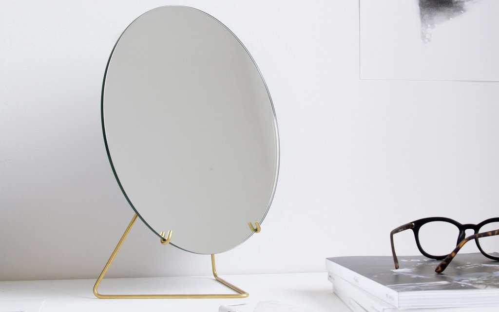 okrągłe lustro