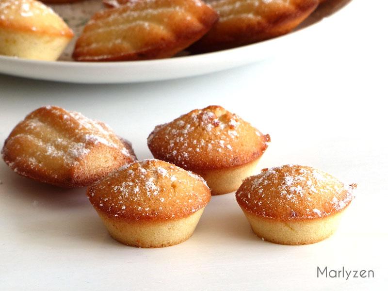 Petits gâteaux moelleux au citron