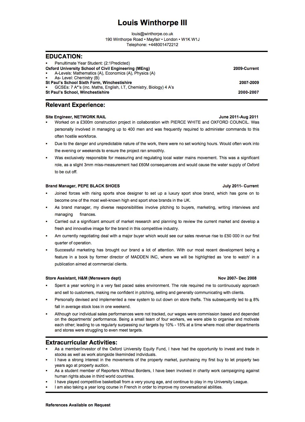 Hedge Fund Resume | 15665 Sle Accounting Resume New Sle Accounting ...