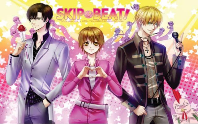 Skip Beat - Daftar Anime berkenaan Idol Terbaik