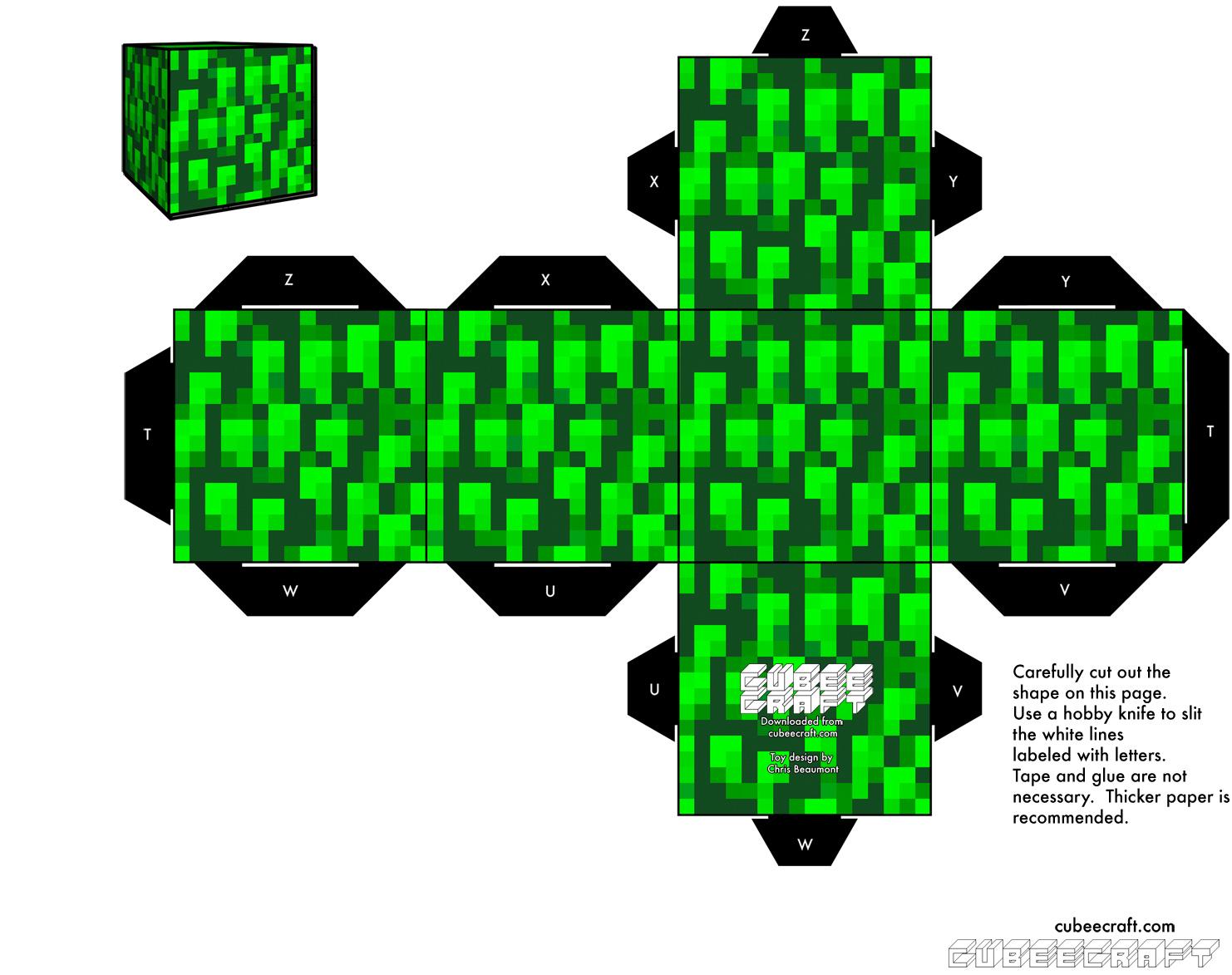 Cubeblog Papercraft 02