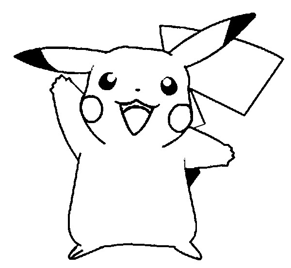 Mundo Da Poesia Infantil Pikachu Para Colorir