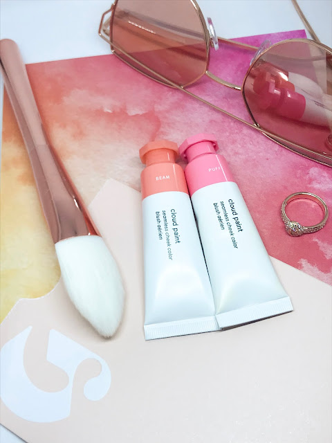 Glossier Cloud Paint - Shades Puff & Beam - Review