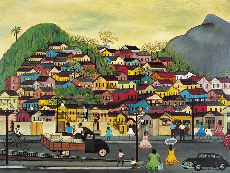 Morro da Mangueira - Heitor dos Prazeres ~ O pintor das favelas carioca