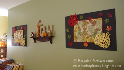 Woodland Creature Baby Shower wall decor