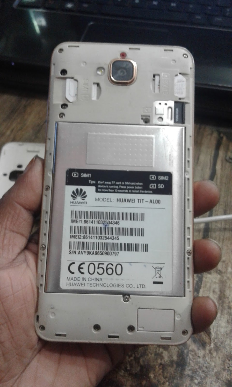 Huawei Y6 Pro TIT-AL00 Dead Boot Recovery Firmware Flash File - 1 To 99